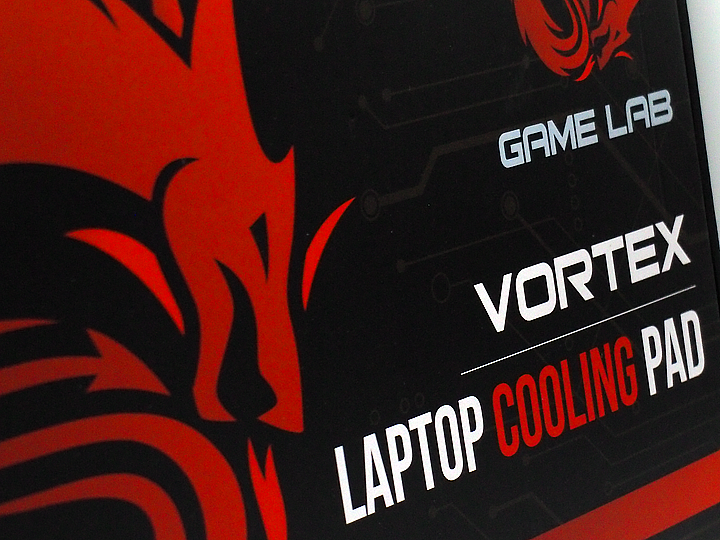 COMPUTER ACCESSORIES: Game Lab VORTEX Laptop Cooling Pad