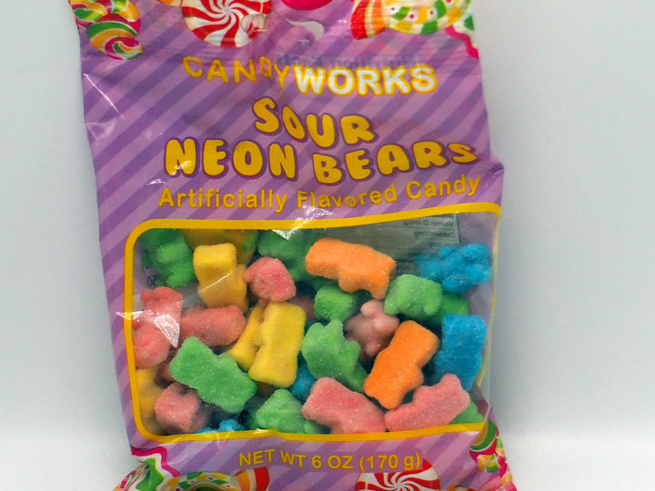 CandyWorks Sour Neon Bears