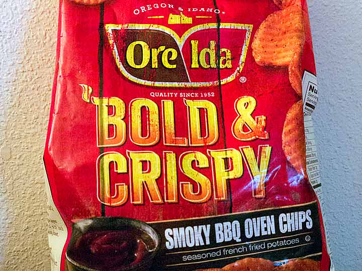 Ore-Ida Bold and Crispy: Smoky BBQ Oven Chips