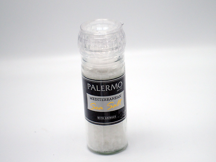 Food Review: Palermo Mediterranean Sea Salt with Grinder