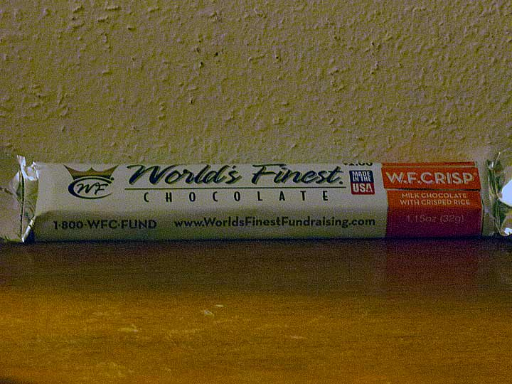 World's Finest Chocolate W.F. Crisp