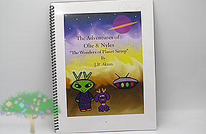 NEW BOOK REVIEW: 'The Adventures of Ollie & Nyles: The Wonders of Planet Sirrep' by J.R. Aknin