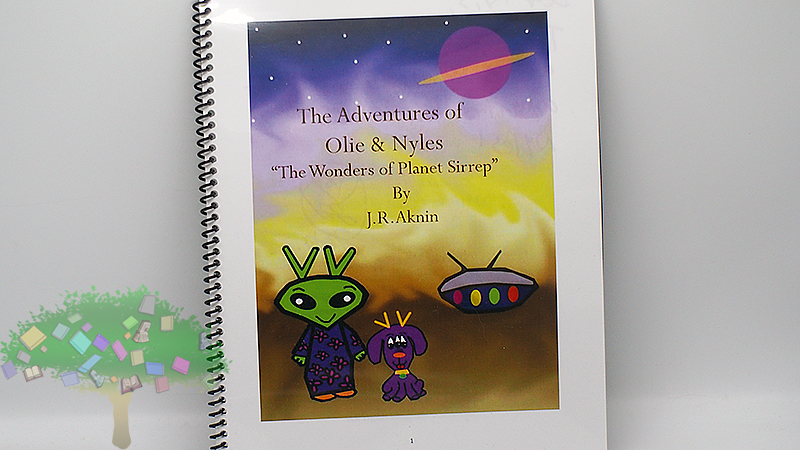 'The Adventures of Ollie & Nyles: The Wonders of Planet Sirrep' by J.R. Aknin
