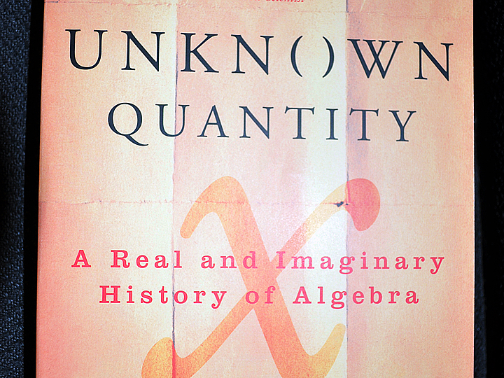 Unknown Quantity: A Real and Imaginary History of Algebra by John Derbyshire