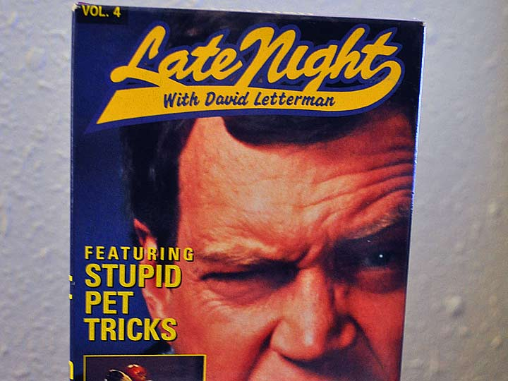 Late Night with David Letterman featuring Stupid Pet Tricks