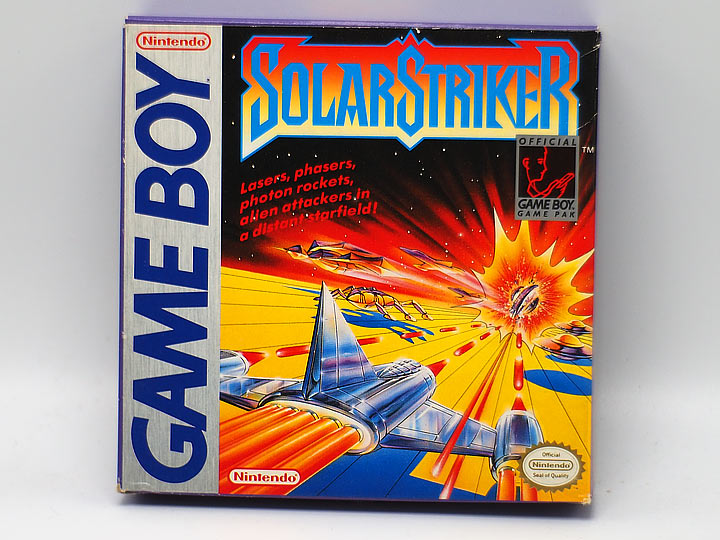 VIDEO GAME REVIEW: 'Solar Striker' (Game Boy)