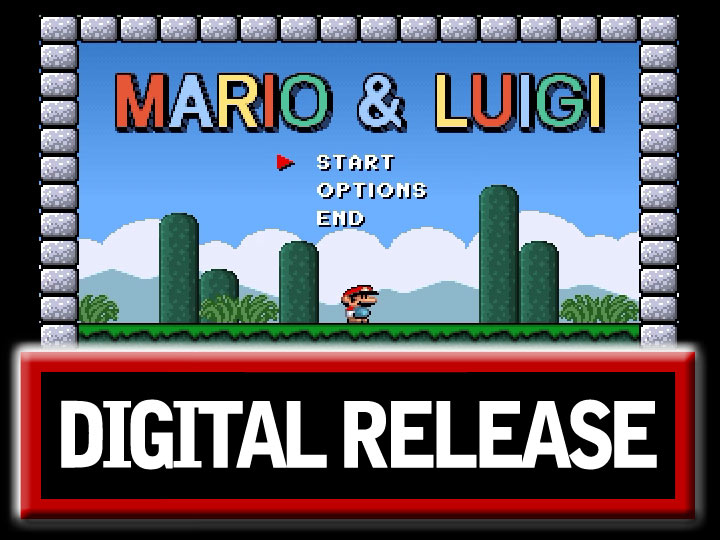 COMPUTER GAME REVIEW: 'Mario & Luigi' (DOS)